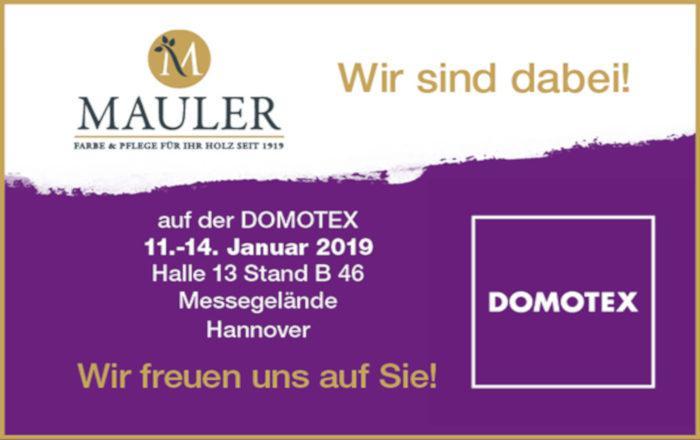 Mauler Domotex Hannover
