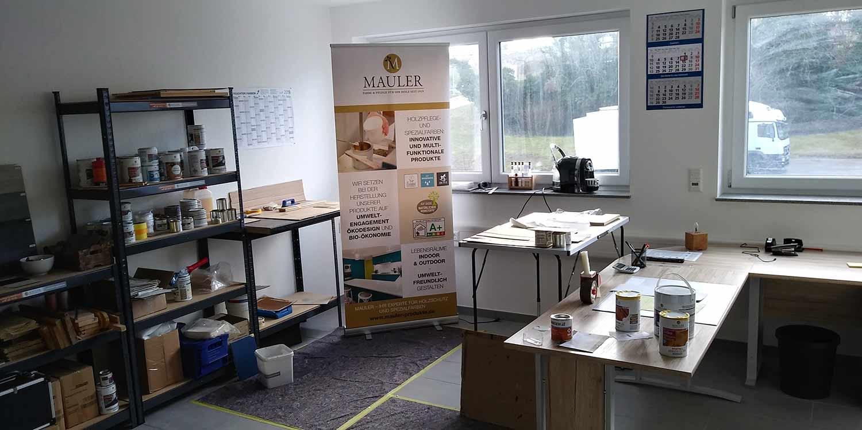 Neues büro in Deutschland