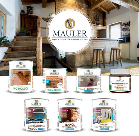 7 neue Produkte - Mauler