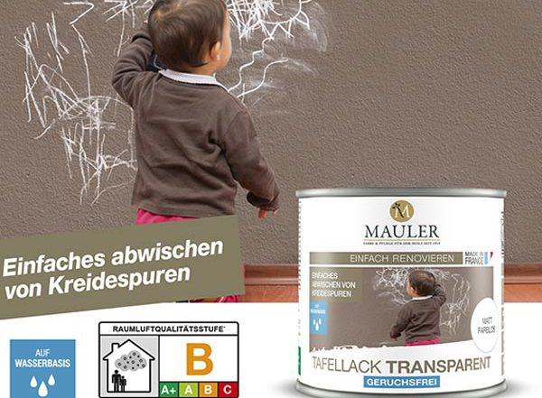 MAULER taffelack transparent