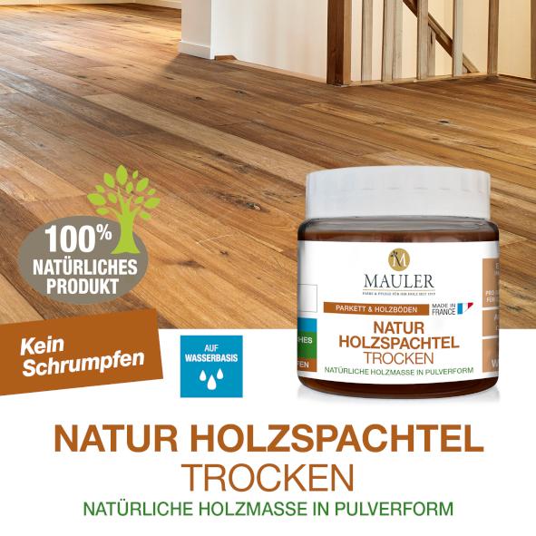 Natur Holzspachtel trocken - Mauler