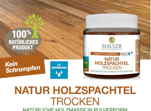 Natur Holzspachtel trocken- Mauler