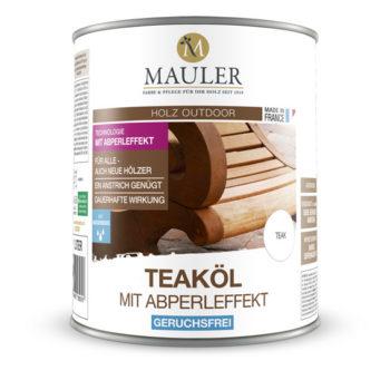 Teaköl abperleffekt - Mauler