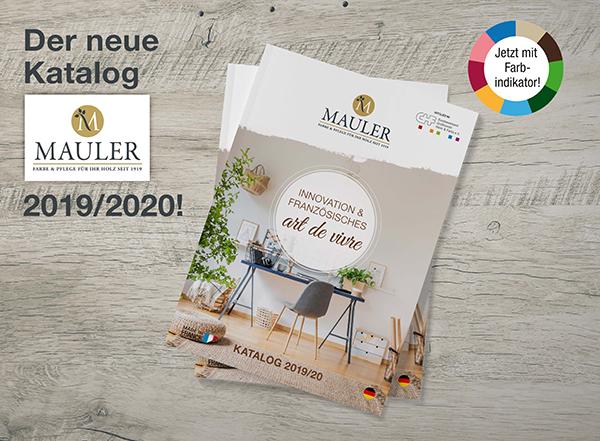 mauler neue katalog 2019 2020
