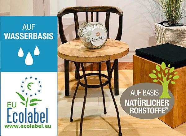 Mauler Auf Wasserbasis Ecolabel