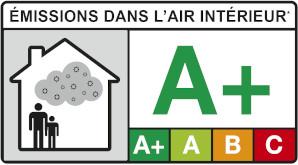 Émission Air Intérieur A+