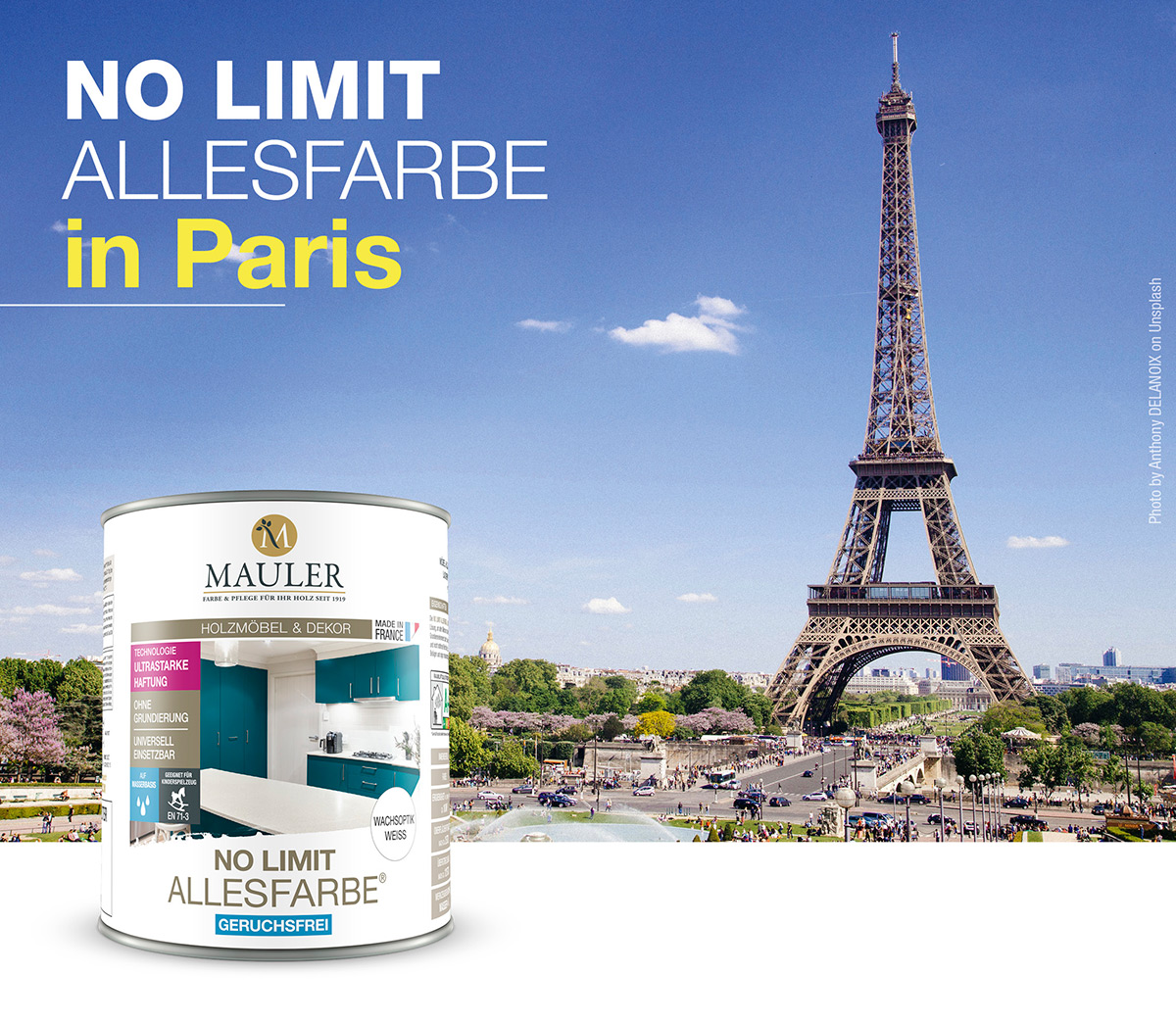 Unsere No Limit Allesfarbe erobert Paris!