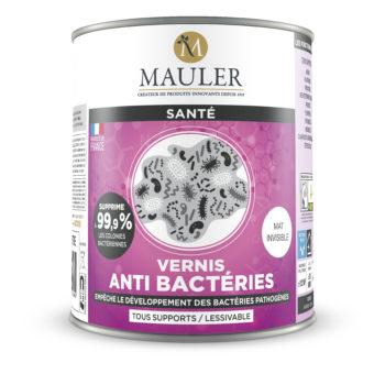 Vernis anti-bactéries - Mauler